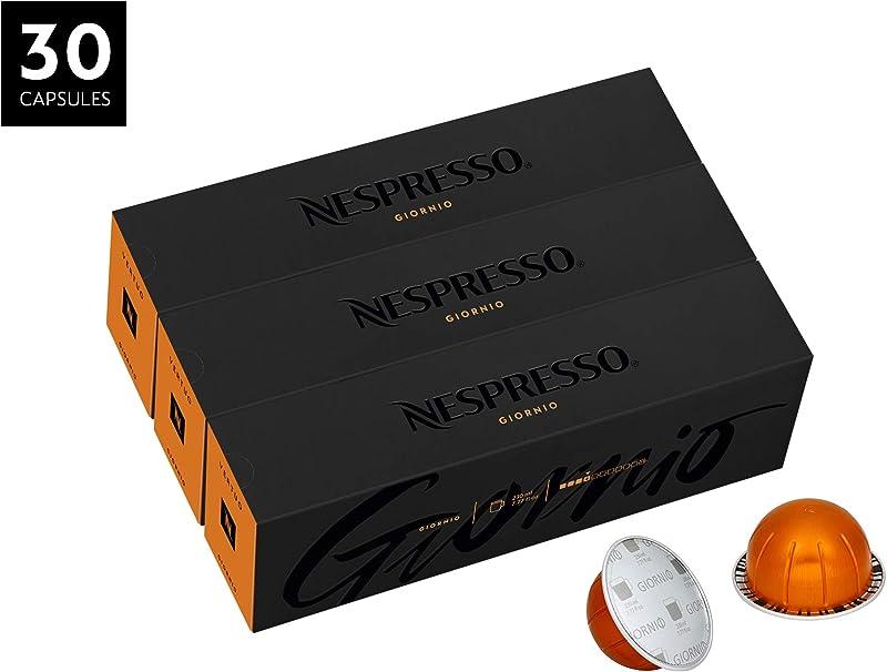 Nespresso VertuoLine Coffee Giornio 30 Capsules