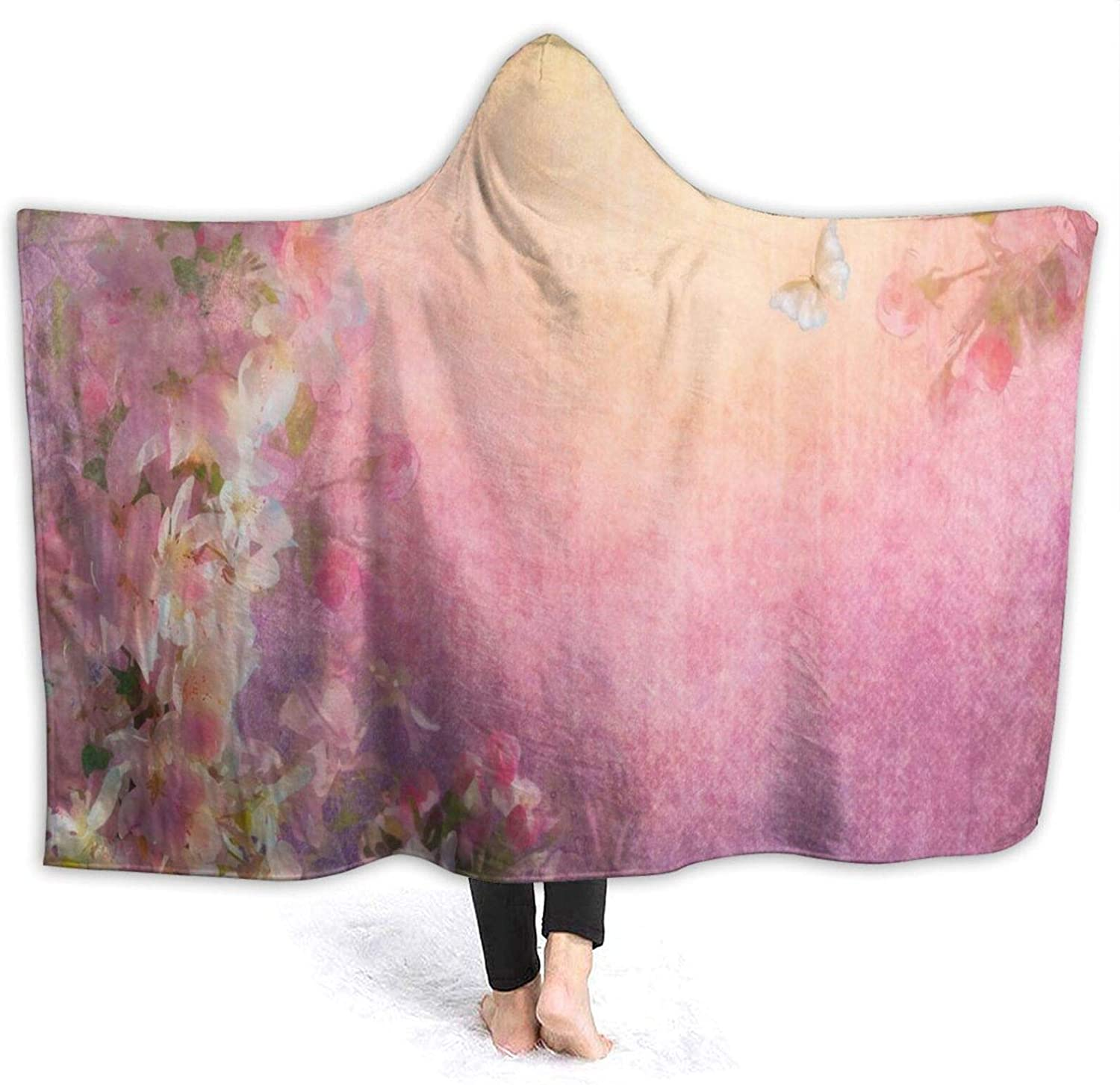 Hooded Blanket Anti-Pilling Flannel Blossom SEAL All items in the store limited product Enchanted Cherry Pet