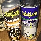 Sprayset Für Mercedes Blauschwarz Farbcode 199 Baujahr 1983 1997 Metallic Lack 2 Spraydosen Ludwiglacke Lack Spray Im Set Eine Spraydose Basislack 400 Ml Und Eine Dose Klarlack Glänzend 400ml