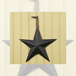 Hearthside Collection 8 Inch Black Star