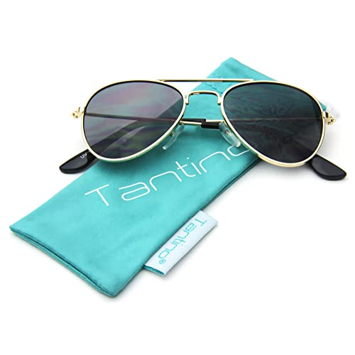 4c542c1e89e Baby Infant Boy or Girl Classic Metal Aviator Fashion Sunglasses for Ages 0  to 9 Or