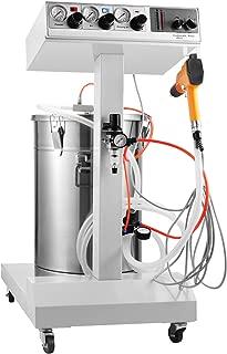 BestEquip Powder Coating Machine WX-101 40W 45L Capacity Electrostatic Powder Coating System with Spraying Gun 550g Per Per Minute Electrostatic Machine (WX-101 40W 50L Capacity)