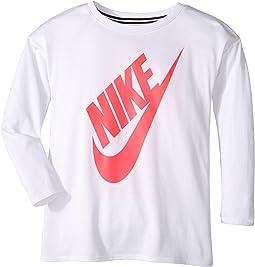 Nike Kids - Sportswear Essential Long Sleeve Top (Little Kids)