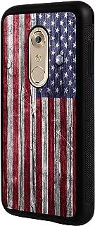 Axon 7 Case, ZTE Axon 7 Case,BOSLIVE American Flag on Wood Background Design TPU Slim Anti-Scratch Protective Cover Case for ZTE Axon 7