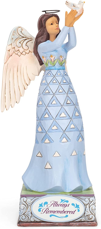 Enesco Jim Shore Heartwood Creek Department store Figurine Luxury 6008 Angel Bereavement