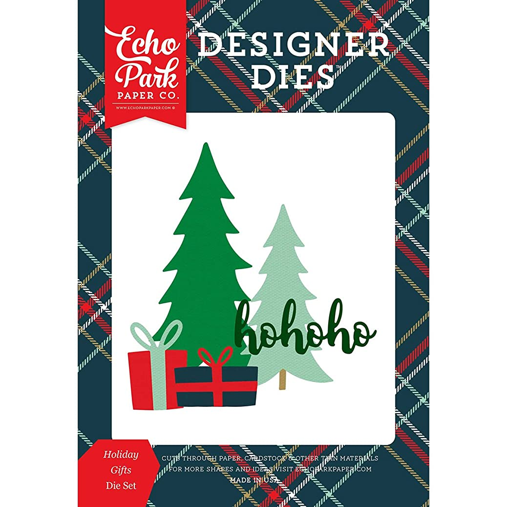 Echo Park Paper Company DH116042 Holiday Gifts Die Set shwkggcezp