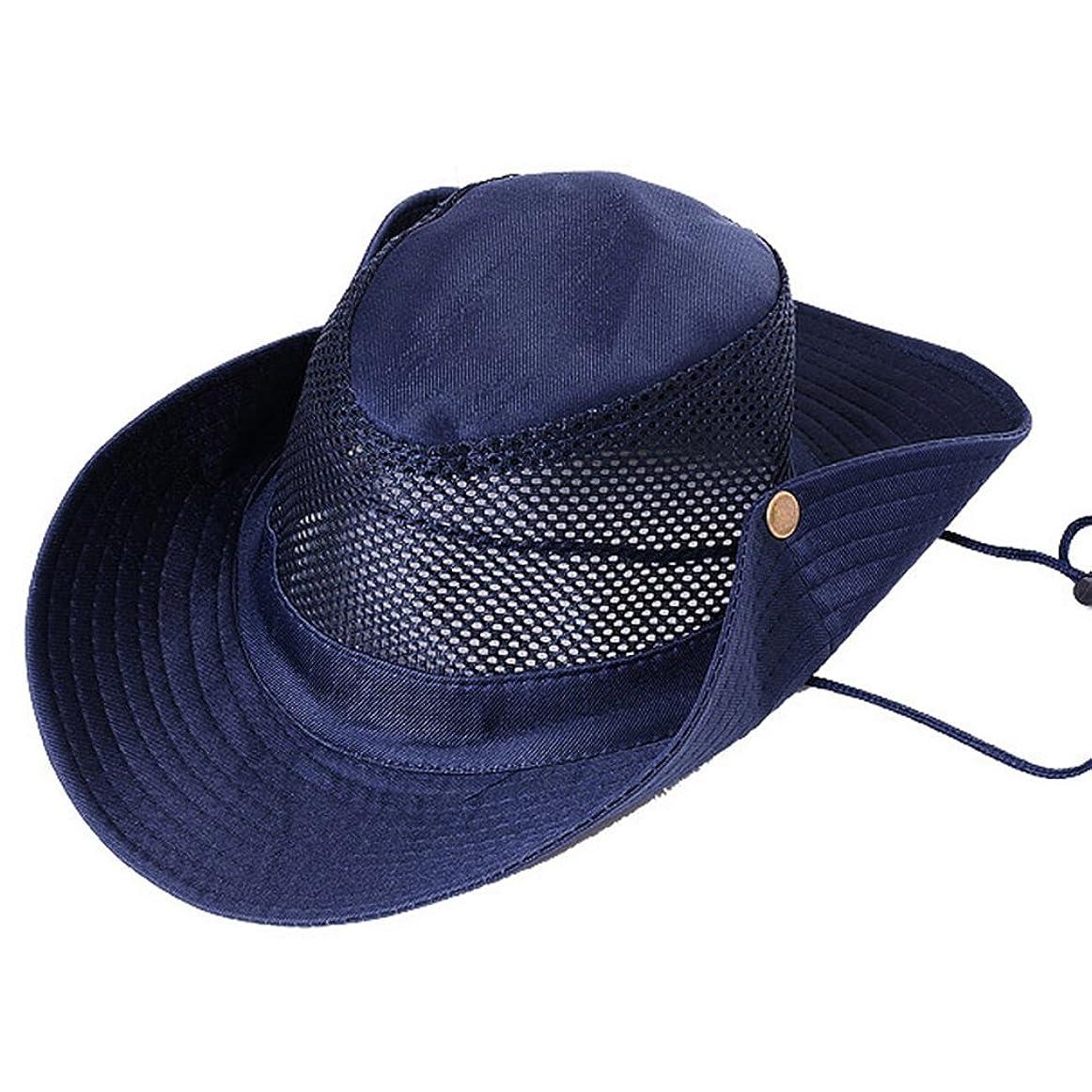 メキシコボイコット無意味pogah釣り帽子、通気性Wide Brim Sun UV保護Boonie Bucketメッシュ帽子キャップ