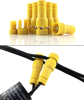 SRRB Direct Low Voltage Replacement Landscape Light 12-14 Gauge Cable Connector for Malibu Paradise Moonrays and More