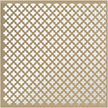 M-D Building Products 56016 .020-Inch Thick 1-Feet by 2-Feet Cloverleaf Aluminum Sheet