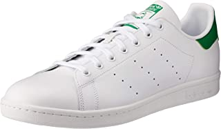 adidas Originals Stan Smith Mens Lace Up Shoes Trainers...
