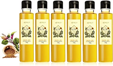 長白工坊 有機えごま油 140g 6本セット JAS認定 低温圧搾 荏胡麻油 エゴマ油 α- リノレン酸