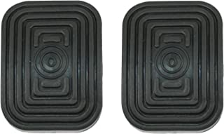 Empi 1950-1979 Type 1 Beetle Brake and Clutch Pedal Pads, Set of Two 9904-B
