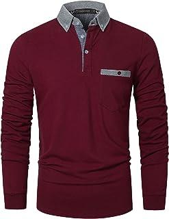 Amazon.es: camisa hombre rojo vino - Polos / Camisetas, polos y ...
