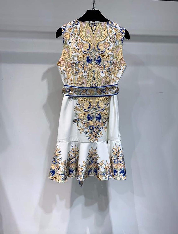 Robe d'été 2020 pour femme - Style européen 1 Couleur