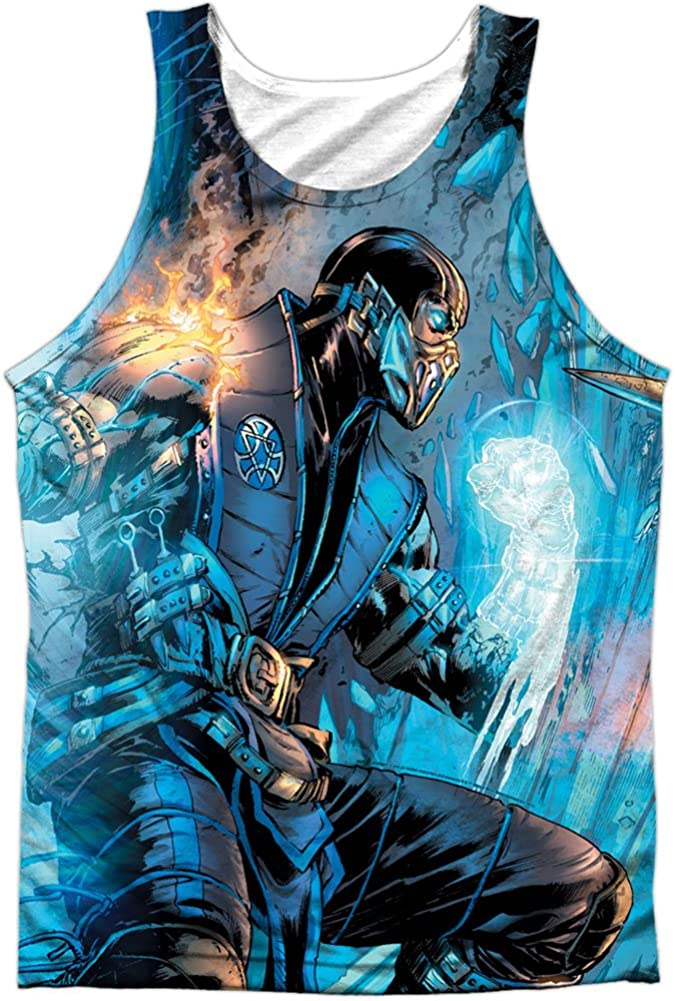 High quality new Mortal Kombat Comic Front Back Poly Print Tank Adult To Max 62% OFF