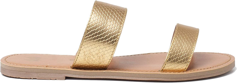 Malvados Women's Icon Azalea Reptile Slip On Sandals