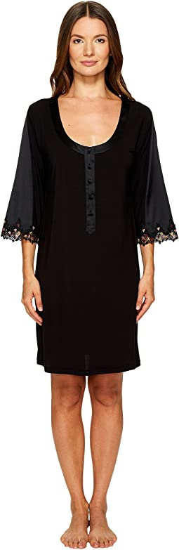 La Perla - Blooming Macrame Sleep Shirt
