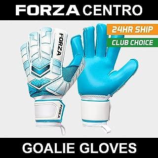 Forza Centro Goalkeeper Gloves [8 Sizes] | Professional Quality - Fingerspine Protection [Net World Sports]