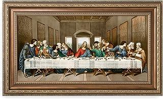DECORARTS -The Last Supper, Leonardo da Vinci Classic Art Reproductions. Giclee Print& Museum Quality Framed Art for Wall ...