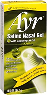 Ayr Saline Nasal Gel 0.50 oz (Pack of 12)
