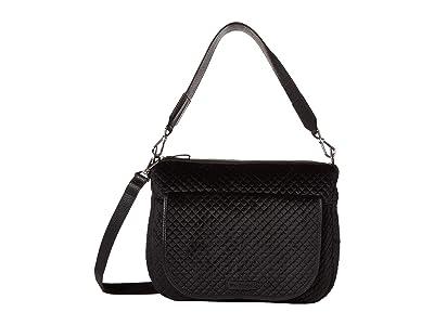 Vera Bradley Carson Shoulder Bag (Classic Black 1) Shoulder Handbags