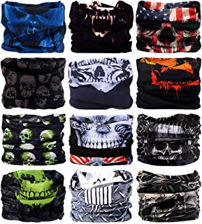 LANCHY Headband Head Wrap Bandana Headwear Face Mask magic scarf for men & women