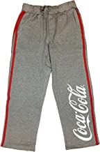 Coca-Cola Classic Grey Tie Sweatpants with 2 Stripes Live Positively