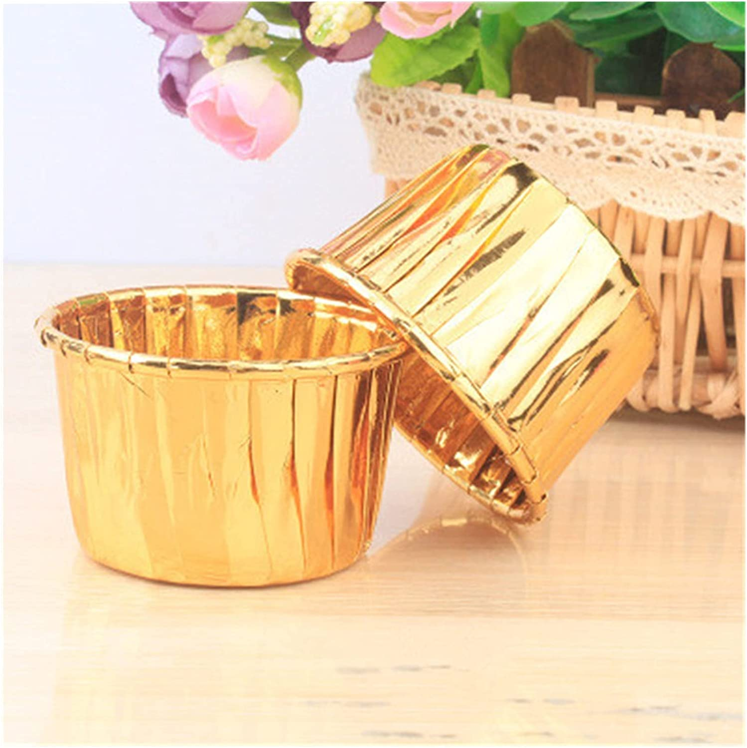 Pastry Cup 50Pcs Oilproof Cupcake Baking Muf Ranking TOP3 Max 84% OFF Liner Cups Wrappers