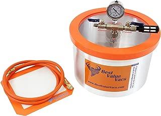 Vacuum Chamber by Best Value Vacs- 2 Gallon Vacuum & Degassing Chamber