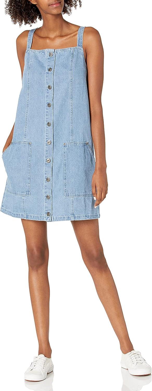 Jack Women's Blue Jean Baby Denim Overall Dress