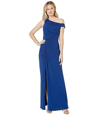 Adrianna Papell Matte Jersey Dress (Blue Violet) Women