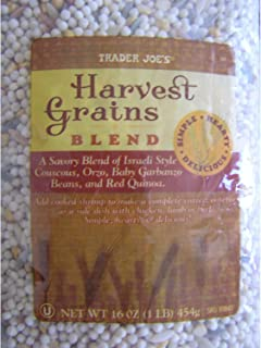 Trader Joe's Harvest Grains Blend 16 Ounces/bag (9 Pack)