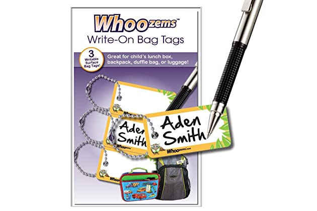 c4e18542d9e8 Best name tags for backpack | Amazon.com