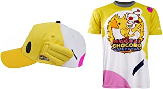 Moogle Chocobo Hoodie T-Shirt NOCTIS Prompto Shirt Hot Game Cosplay Costume Hat Wig Ring Accessaries