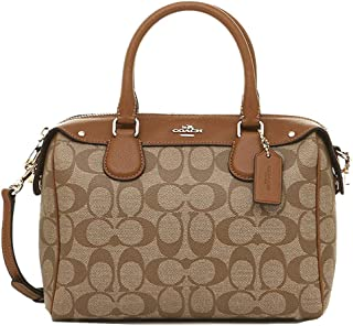 Coach mini Bennett satchel in signature