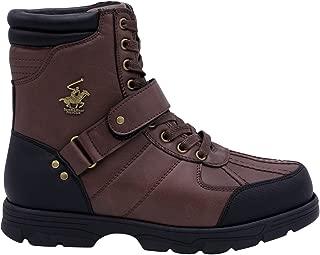 Club Mens Ranger Hi Boots Brown/Black