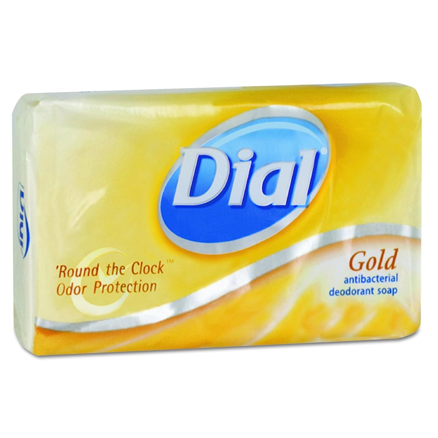 貫通衰える有望Dial 00910CT Gold Bar Soap, Fresh Bar, 3.5oz Box (Case of 72) by Dial