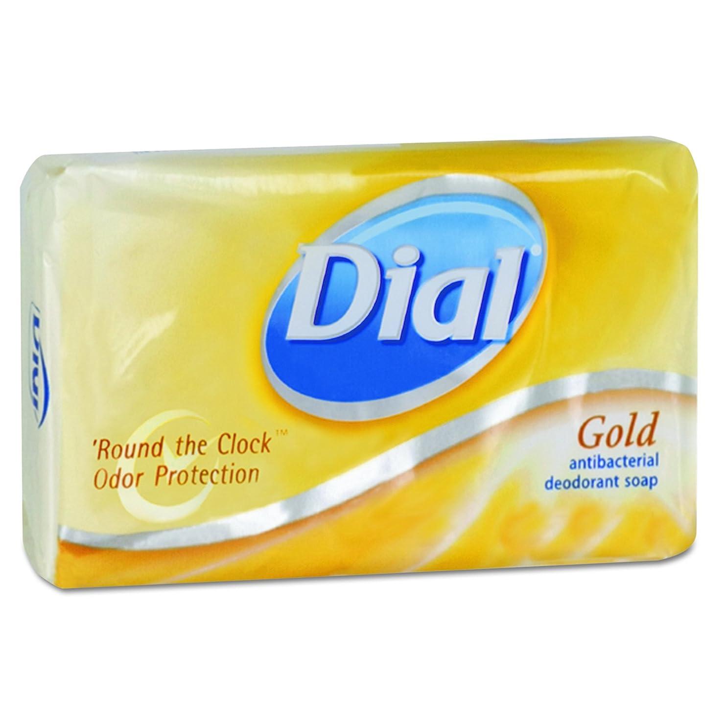 ムスタチオ怖がって死ぬとにかくDial 00910CT Gold Bar Soap, Fresh Bar, 3.5oz Box (Case of 72) by Dial