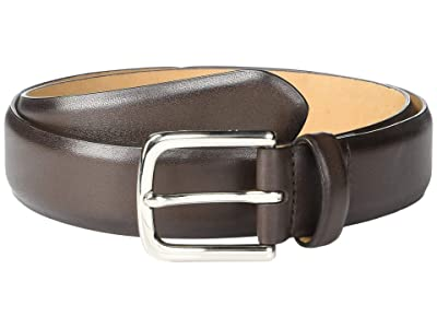 Cole Haan 32mm Dress Calf Strap (Chocolate) Men