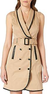 Morgan Robe Trench Risette Vestido Informal para Mujer