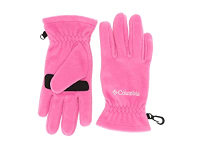 Columbia Kids Thermaratortm Glove (Big Kids) (Pink Ice) Extreme Cold Weather Gloves