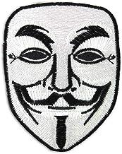 Vendetta Halloween anónimo Fawkes máscara de Guy bordado iron on patch