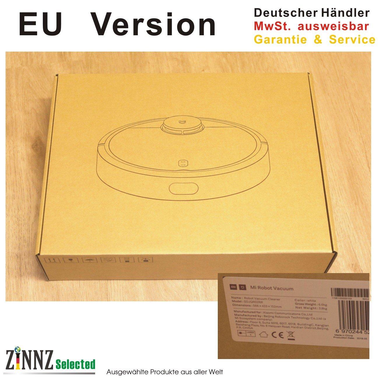 3 años de garantía # Xiaomi Mi Robot Vacuum Cleaner Robot Aspirador White Blanco Marcado CE EU Version de Alemania Service # zinnz Selected #: Amazon.es: Electrónica