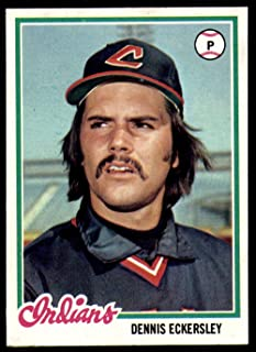 1978 Topps #122 Dennis Eckersley NM-Mint Indians