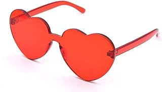 Heart Shaped Sunglasses for Women