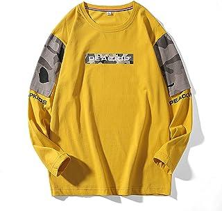 Wu-Tang Clan Black Logo Hombre Camiseta Manga Larga Amarillo M Regular 100/% algod/ón