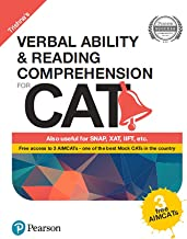 Verbal Ability and Reading Comprehension for CAT by Pearson(with 3 Free AIMCATs)