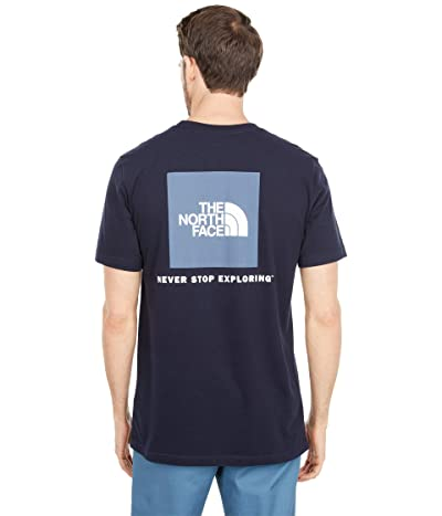 The North Face Box Nse Short Sleeve Tee (Aviator Navy) Men