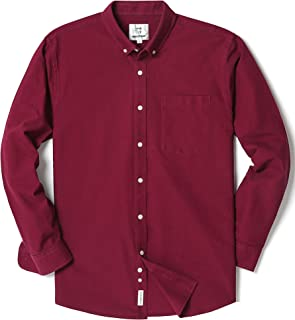 maroon button up
