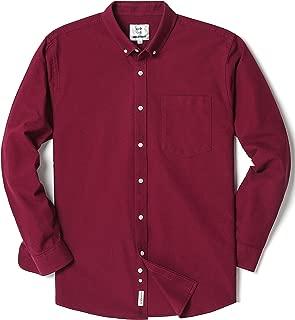 mens gold button down shirt